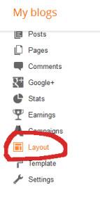 Klik pada Layout ..